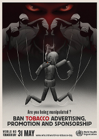 World No Tobacco Day 2013. Are you being manipulated?